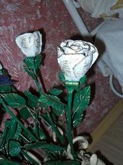 Розы кованые к 8 марта