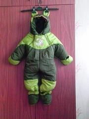 Продаю: Детский комбинезон от 0 до 2 лет,  весна-осень-зима