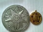 значки,  жетоны и медали