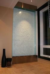 Водопады по стеклу - это элемент Вашего интерьера.