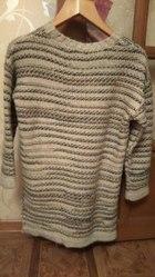 новый женский свитер кофейных оттенков