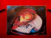 Картина Космос,  ручная работа,  масло