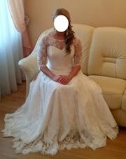 Нежное свадебное платье (Минск или Борисов)