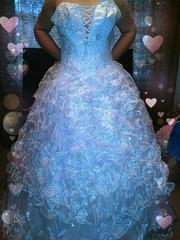 Свадебное платье + полный комплект аксессуаров не бу